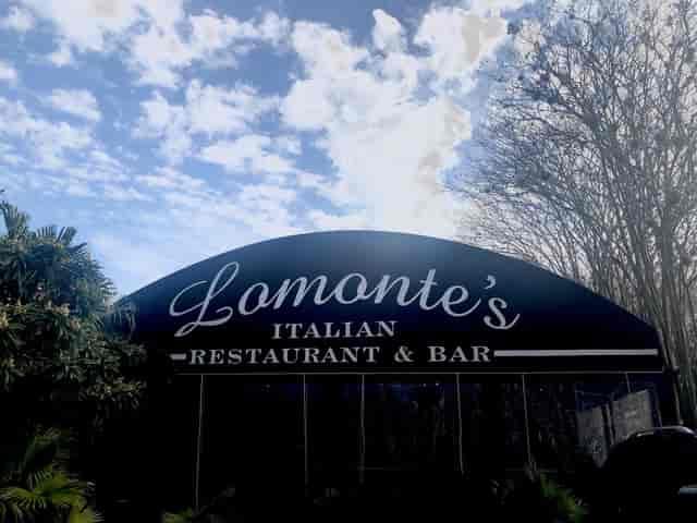 Storefront of Lomonte's