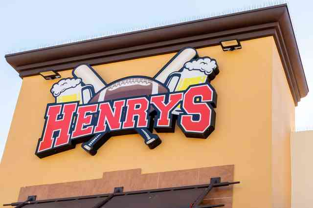 Henry's sign