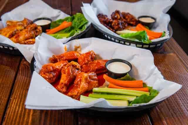 baskets of wings