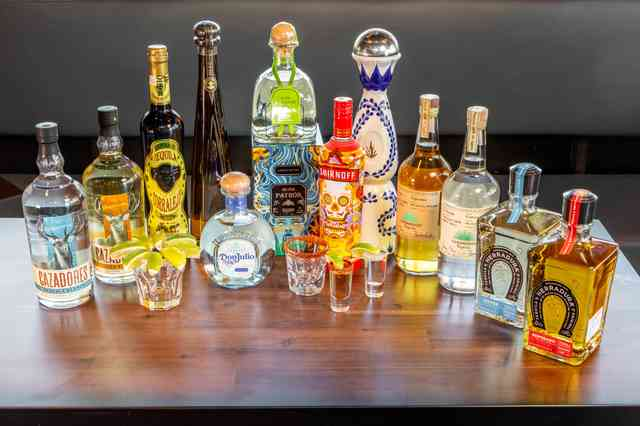 Henry's tequilas