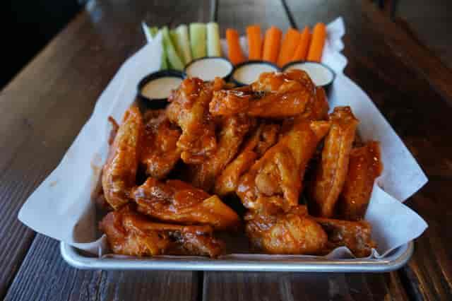 mango habanero hot wings