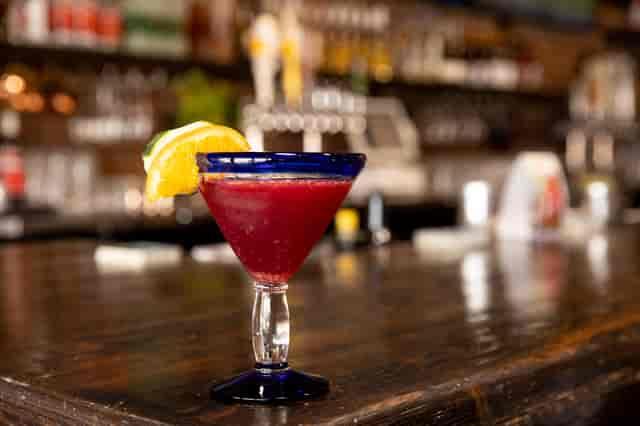 pomegranate cucumber martini