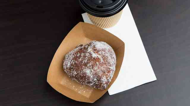 Malasada & Kona Coffee