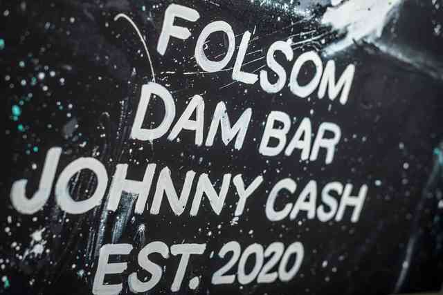 Folsom Dam Bar Art