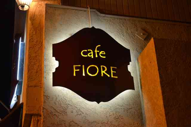 cafe fiore sign