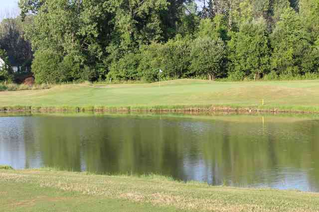 Hole 14 pond