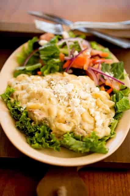 Chili Verde Mac n Cheese