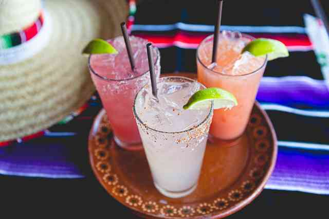 speciality margaritas