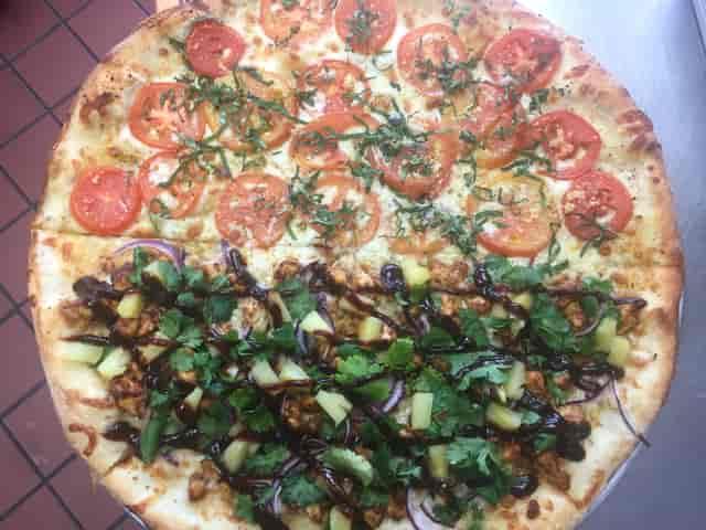 margarita bbq chicken pizza