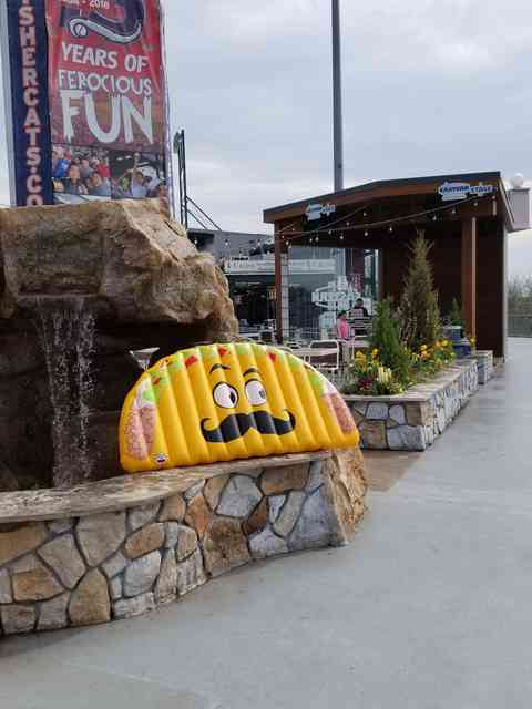inflatable taco
