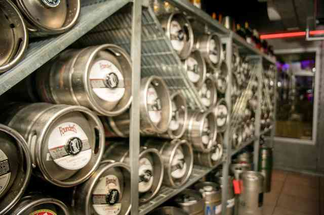 New England's Tap House Grille kegs