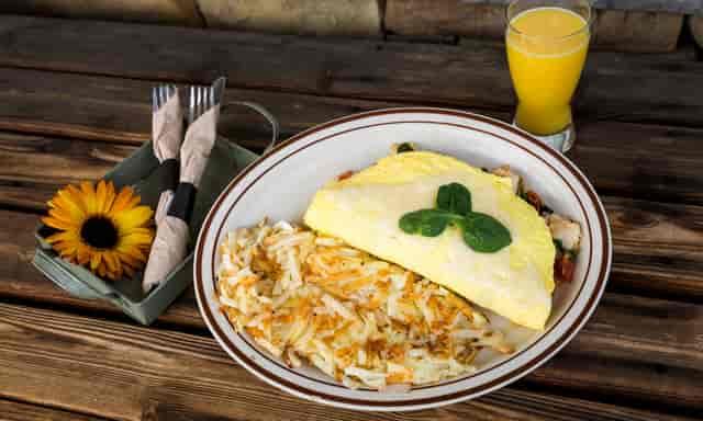 turkey lorraine omelet