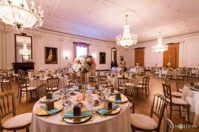 east room wedding