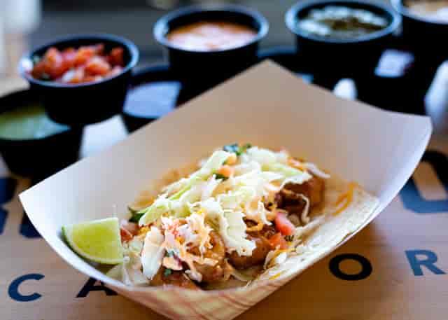 fried shrimp taco