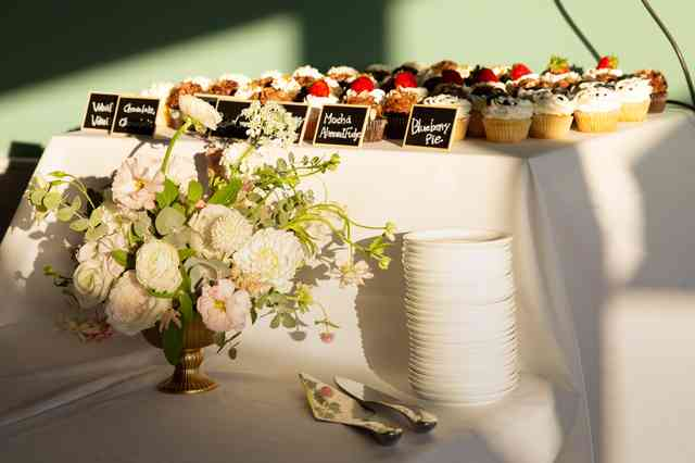 functions dessert table