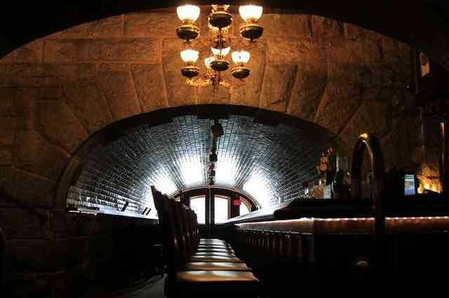 dark bar