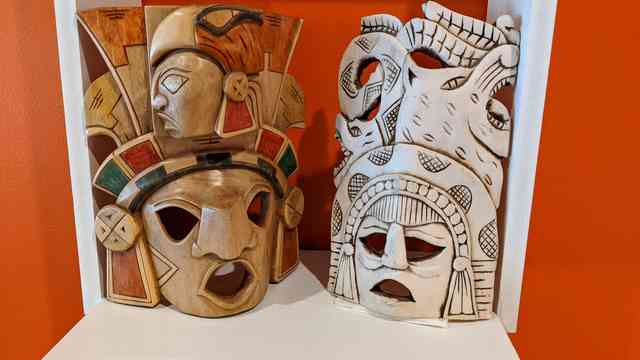 Decorative mexican masks