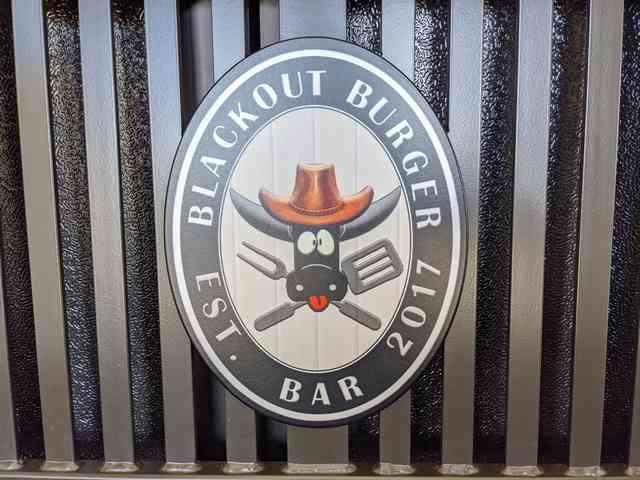 blackout burger bar logo