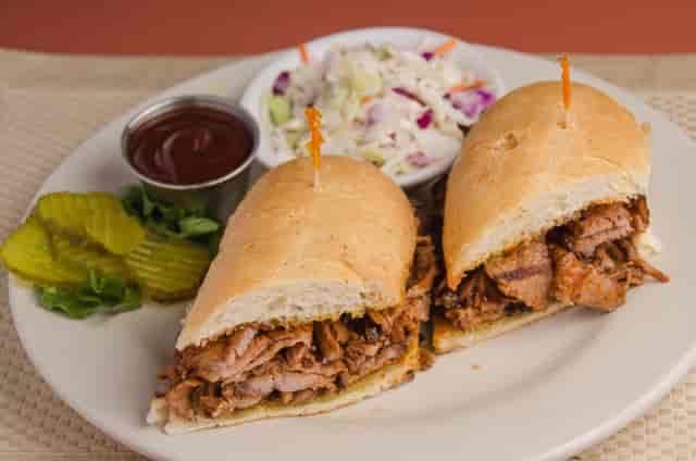 BBQ Tri Tip Sandwich