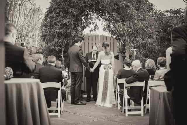 Wedding at The Bear's Garden