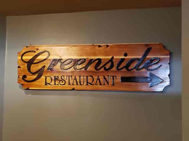 greenside restaurant sign