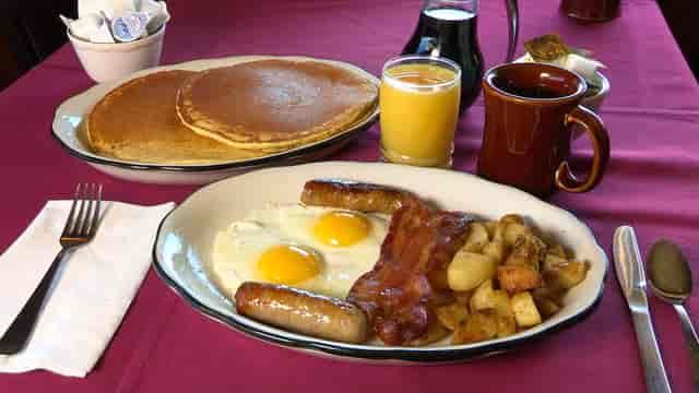 greenside breakfast