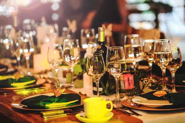 Dine Around Dinner 2020