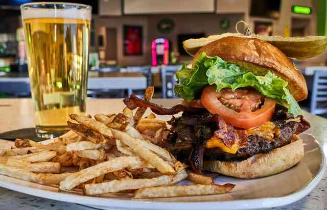 draft burger