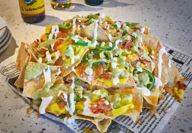 half tray nachos