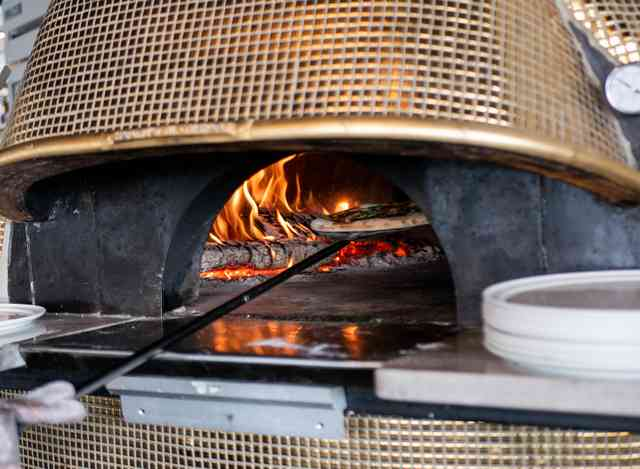 wood fire grill at Midici Neapolitan Pizza Company