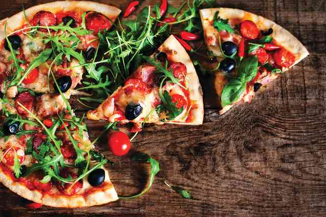 stock pizza