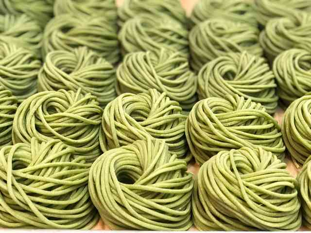 spinach linguini