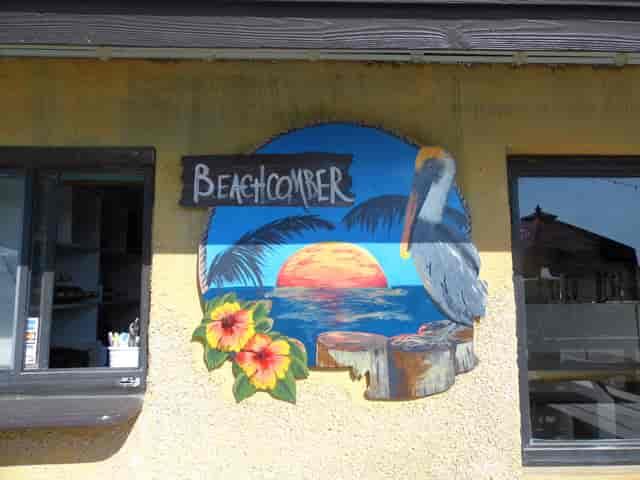 beachcomber sign