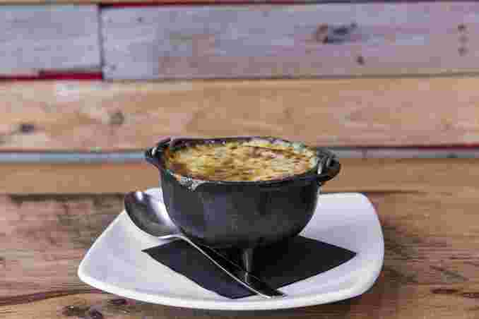 Wood Fired French Onion (V)