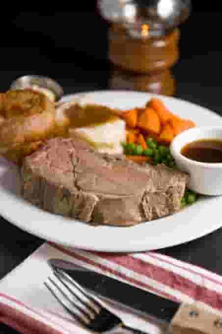 Churchill's Prime Rib & Yorkshire Pudding