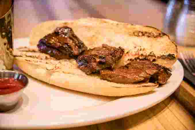 Steak Tip Sandwich