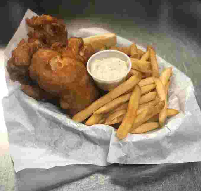Beer Battered Alaskan Cod