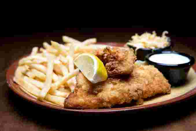 NEW ENGLAND FISH & CHIPS