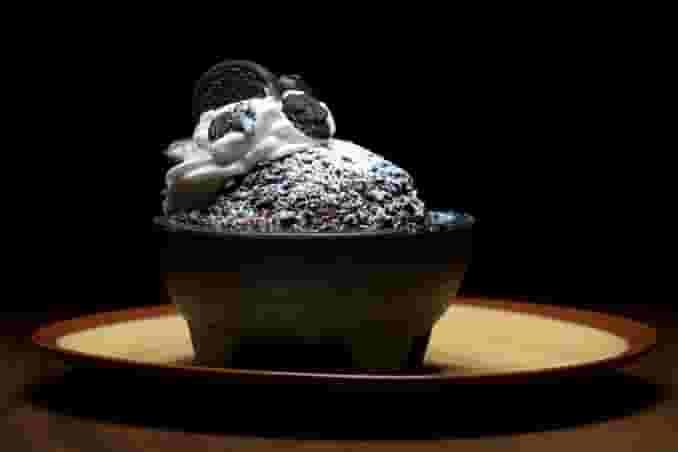 Oreo Fried Ice Cream