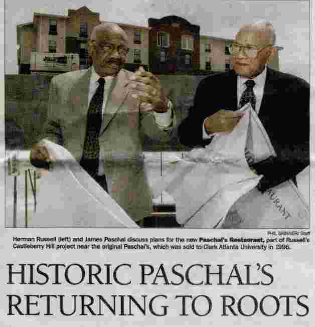 Historic Paschal's Returning to Roots