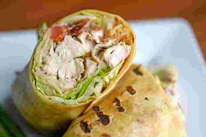 Grilled Chicken Caesar Wrap