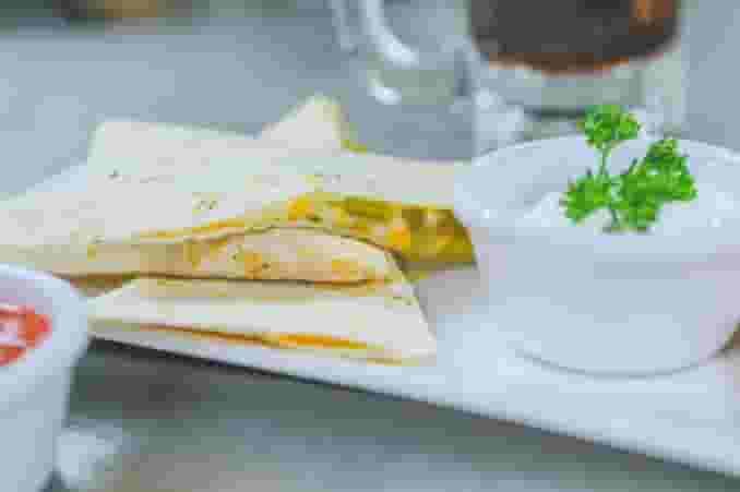 Tex-Mex Quesadillas (Barbacoa or Chicken)