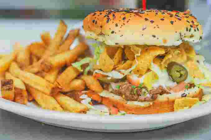 Hombre Burger (Caliente)