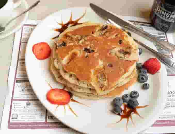 Blueberry Pancakes (3 Pancakes)
