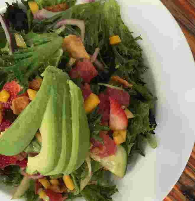Ahi Poke Salad