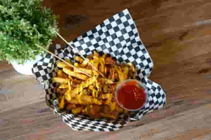 Fries & Popcorn Chicken