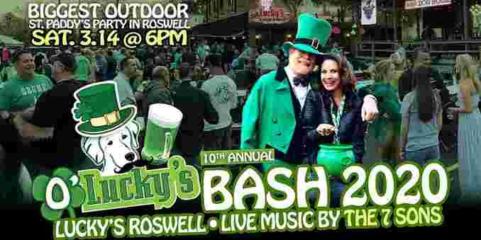 10th Annual St. Paddy O'Lucky's BASH 2020