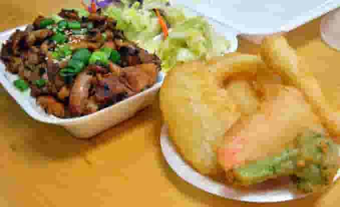 Chicken & Tempura