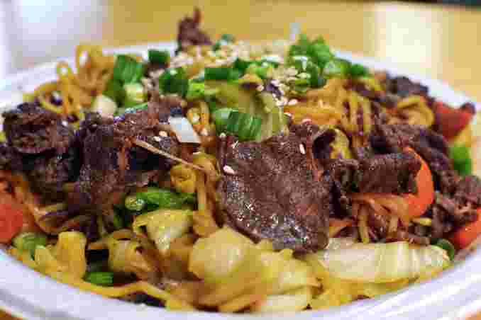 Beef or Pork Yakisoba