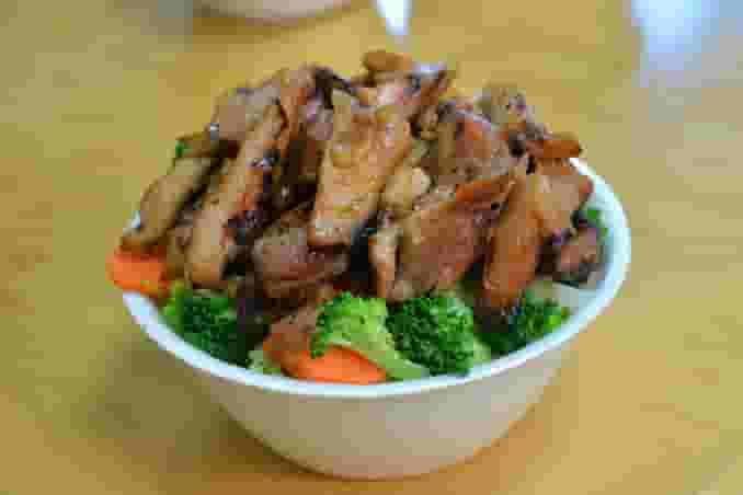 Vegetable Chicken Bowl